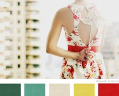 Gorgeous Photography by Judy Pak. Love these colors together and love the dress! :) #colors #weddingcolors