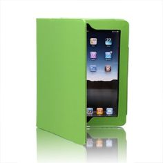 searching for SAVEICON PU Folio Leather Case Cover with Built-in Stand for Apple iPad 1 1st Generation-Green