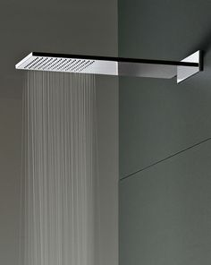 Milano Shower Head by Fantini Rubinetti Beautiful Bathrooms, Modern Bathroom, Casa Top, Bathroom Shower Heads, Rain Shower Heads, Large Shower Heads, Washroom, Luxury Shower, Bath Design