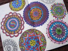 Little Black Kitty blog                                           Mandala style Doodles