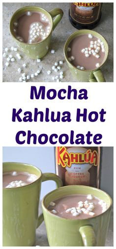 Mocha Kahlua Hot Chocolate