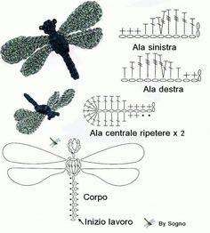 「libelula croche foto」の画像検索結果