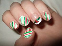 Amazing Christmas Nail Design 2017
