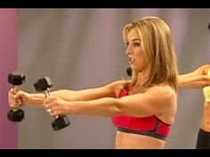 5 Minute Shoulder Workout with Denise Austin is designed to build muscle, burn calories, and sculpt strong shoulders and arms. These strength exercises use weights to get you defined results fast. Try this workout at home and comment to let us know how you did. This workout is from Denise Austins DVD Hit The Spot: 10 five-minute Target Toners...