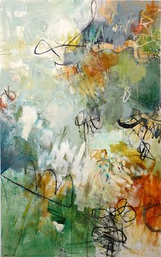Por amor al arte: Krista Harris Abstract Canvas, Abstract Watercolor, Abstract Landscape, Encaustic Art, Contemporary Art, Modern Art, Abstract Expressionism, Amazing Art, Portraits