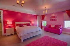 Teen girl bedroom ~ Interior Design by Ruth Stieren, Baer's Altamonte Springs