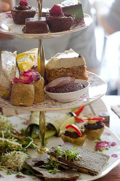 Sydney Eats: Sadhana Kitchen Raw Vegan High Tea - Teffy's Perks