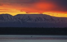 Anchorage, Alaska. The world's best sunset spots. What time is sunset in Anchorage? http://whattime.me/evias