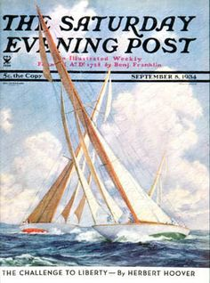 saturday evening post covers of the 1920s | Anton Otto Fishcer | The Saturday Evening Post
