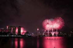 The 27 best under-the-radar places to spend New Year's Eve, according to the world's leading travel experts Digital Marketing Trends, Nouvel An, Pink Wallpaper, New Years Eve Party, Chinese New Year, Photos, Pictures, Night Time, Marina Bay Sands