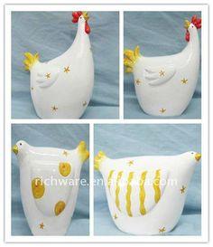 imagenes de gallinas de ceramica - Buscar con Google