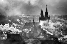 Photograph Prague in winter 2 by Martin Froyda