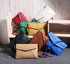 Vintage Envelope Crossbody Shoulder Bag. Colour- Yellow Envelope Saco 241dbb5075b72