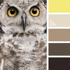 2015, color amarillo y tonos marrones, color marrón, color marrón oscuro, colores para la decoración, elección del color, marrón y amarillo, paletas de colores para decoración, paletas para un diseñador, selección de colores, tonos marrones.