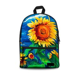 3a217ccdc97 3D School Bags Painting Backpack, Canvas Backpack, Kids Backpacks, School  Backpacks, Casual