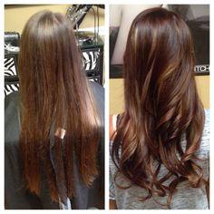 Color/highlight/haircut