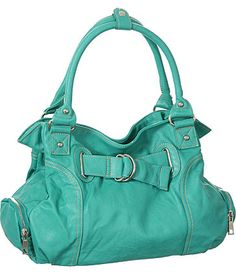Turquoise L&S ''Bonnie'' Hobo Handbags, Purses Hobo Purses, Cute Purses, Coach Purses, Coach Bags, Coach Handbags, Purses And Handbags, Guess Handbags, Fashion Handbags, Fashion Bags