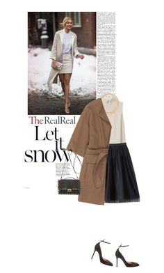 """""""Holiday Sparkle With The RealReal: Contest Entry"""" by sombrasdelcarax ❤ liked on Polyvore featuring Cacharel, Bebe, Cartier, Valentino and STELLA McCARTNEY"""