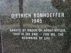 "Bonhoeffer: ""Only at the Hour that God Has Chosen"" (Repost)"