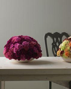 Strikingly Unusual Arrangements - Martha Stewart Decorating with Nature