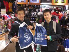 【大阪店】2014.12.11 青森県から修学旅行でご来店頂きました。新宿店もご利用いただき有り難うございます。また、遊びに来て下さいね~