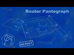 A simple router pantograph made of some plywood, bolts, fender washers, and nylon stop nuts. Holiday Signs, Boat Plans, Sign I, Woodworking Tools, Neon Signs, Make It Yourself, Animal House, How To Plan, Cool Stuff