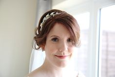 beautiful natural bride at Suffolk wedding