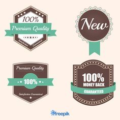 Free Retro Business Stickers And Badges
