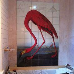 Mural Tiles Printing.
