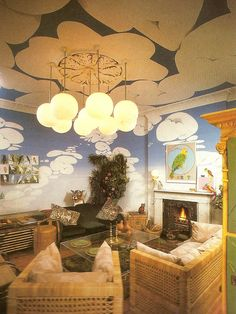 An '80s interior designed by Moya Bowler