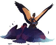 Winged lessons by Mythorie.deviantart.com on @DeviantArt