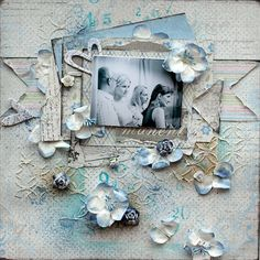 Shabby and Mixed Media LOs - Maja Design. Elena Olinevich