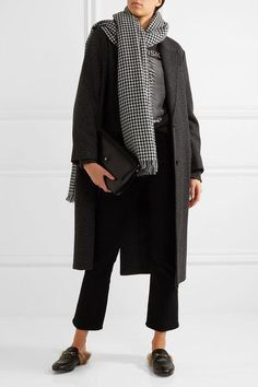 Étoile Isabel Marant | Checked wool scarf | NET-A-PORTER.COM