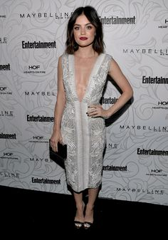 Lucy Hale at the Entertainment Weekly Celebrates the SAG Award Nominees at Chateau Marmont in LA 1/28/17. @lilyriverside