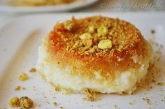 Knafeh Na'ame   Shredded Kataifi Pastry