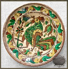 Ceramic decorative plate, Ukraine, from Iryna with love