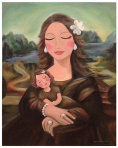 Mona Lisa's Love [Jacqui Conias] (Gioconda / Mona Lisa)