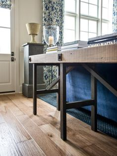 table design inspiration - make it with reclaimed wood
