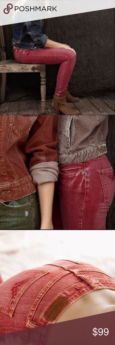 m2f•brand•denim•indie•skinny•in•chile•pepper M2F brand denim jeans. Made 2 Fade Features and in less array of nature's most magnificent colors. Don't wait get yours today. Bundle and save. m2f Jeans Skinny