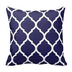 Navy Blue Chic Moroccan Lattice Pattern Throw Pillow Case... http://www.amazon.com/dp/B01DN4F2HU/ref=cm_sw_r_pi_dp_UUMrxb0JKJP2W