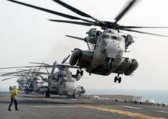 USMC CH-53E USS Kearsage LHD-3