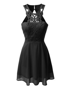 The shape, the neck detail, maybe a brighter color, but I could die happy in this dress.