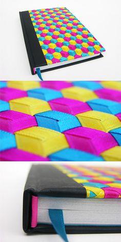 CMYK | Flickr - Photo Sharing! bellísimo trabajo tejido o trenzado con cintas