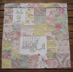 more paris flea market fabric Stitch-A-Long - - - - -: April 2010