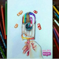 ❤Old or new!!??❤ Follow us! @dailyart Amazing artwork by @yos_043 Tag your friends!#Dailyart