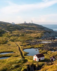 Quirpon Lighthouse Inn. Remote Newfoundland inn with a great view of whales and icebergs!
