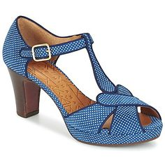 Shoes Women Sandals Chie Mihara IGI Blue / White