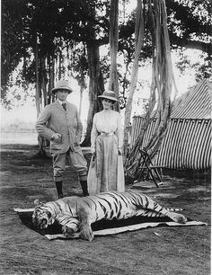 Lord & Lady Curzon - India Early 1900s