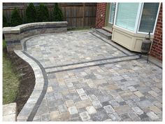 National Landscape, interlocking stone, flagstone, wood structures, and landscaping. Landscaping Design, Backyard Landscaping, Backyard Ideas, Georgetown Ontario, Kropf, Greater Toronto Area, Wood Structure, Flagstone, Walkway