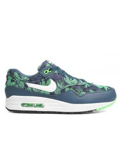 size 40 632a3 13e81 Air Max 1 Gpx Space Blue, White-Black Jade 684174-400 Mens Shoes
